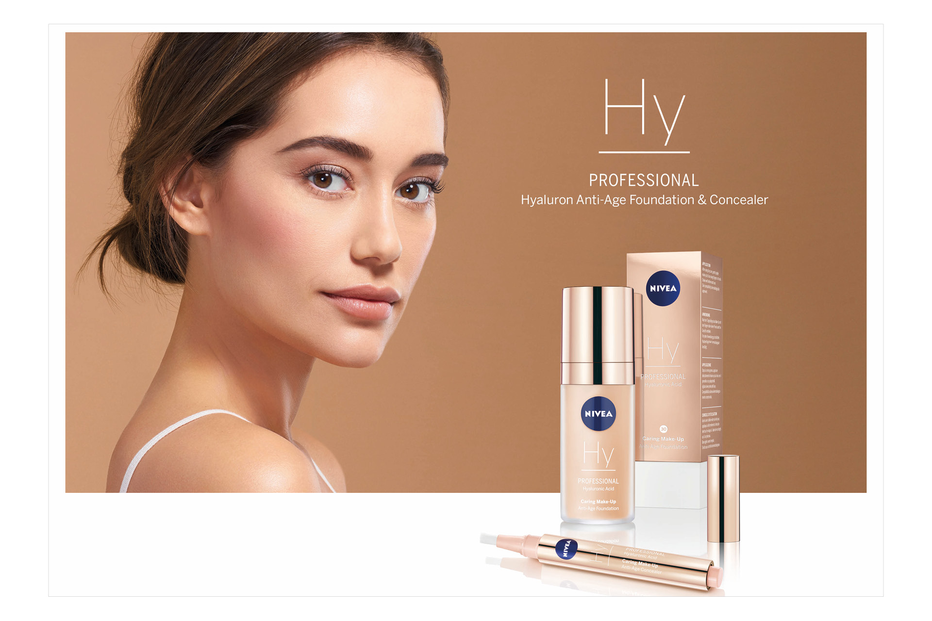 Nivea Professional Make Up Beauty Kampagne Campaign Hamburg Werbung Visual Beauty Advertising